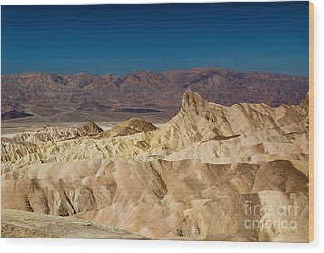 Death Valley Wood Print by Andreas Tauber