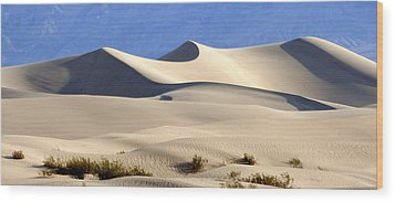 Death Valley Sand Dunes Wood Print