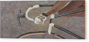 Decay 3 Wood Print by Darice Machel McGuire