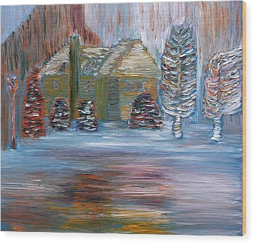 December In Highland New York Wood Print by Vadim Levin