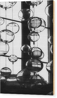 Decorative Balls Wood Print