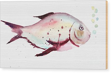Decorative Fish Wood Print