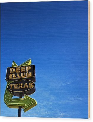 Deep Ellum Wood Print