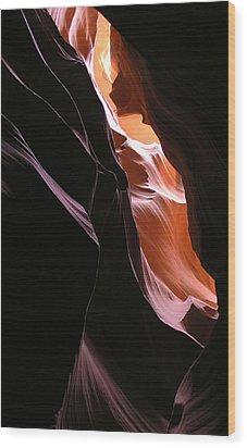 Deep Illumination Wood Print