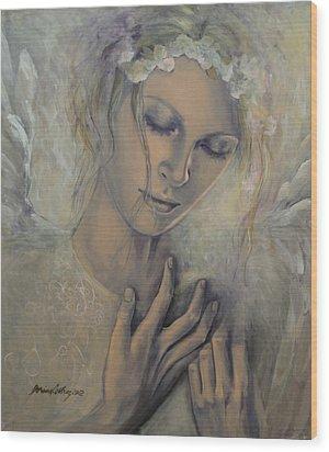 Deep Inside Wood Print by Dorina  Costras