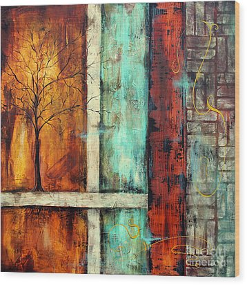 Deep Roots-a Wood Print by Jean Plout