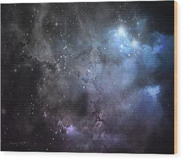 Deep Space Wood Print