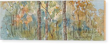 Deep Woods Waskesiu Horizontal Wood Print
