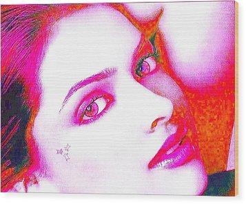 Deepika Padukone Wood Print by Ricky Nathaniel