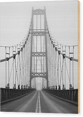 Deer Isle Bridge Wood Print