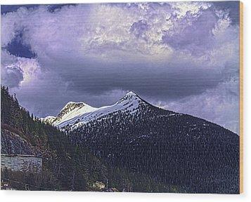 Deer Mountain C009 Wood Print by Timothy Latta
