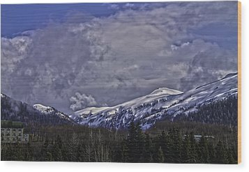 Deer Mountain R1 Wood Print