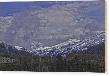 Deer Mountain R1 Wood Print by Timothy Latta