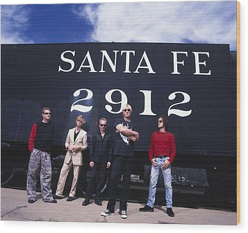 Def Leppard - Santa Fe 1999 Wood Print by Epic Rights
