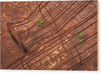 Persistence Wood Print