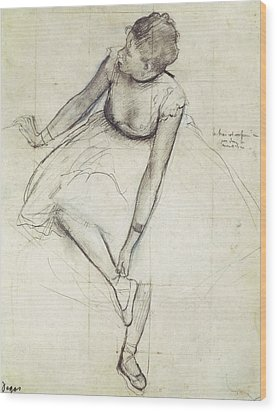 Degas, Edgar 1834-1917. A Dancer Wood Print by Everett