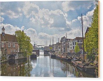 Delfshaven Rotterdam Wood Print