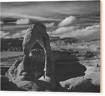 Delicate Arch Wood Print by Wendell Thompson