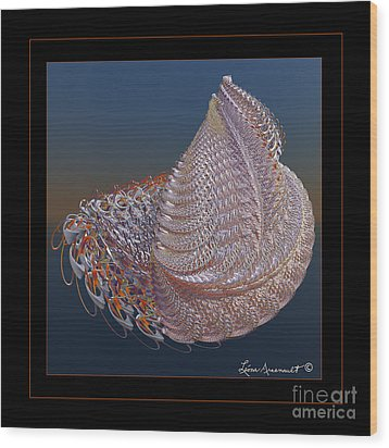 Delicate Wrap Wood Print