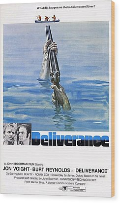 Deliverance Wood Print by Movie Poster Prints