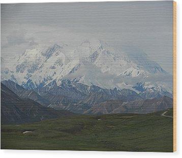 Wood Print featuring the photograph Denali by Karen Molenaar Terrell