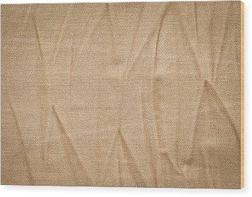Denim Background Wood Print by Tom Gowanlock
