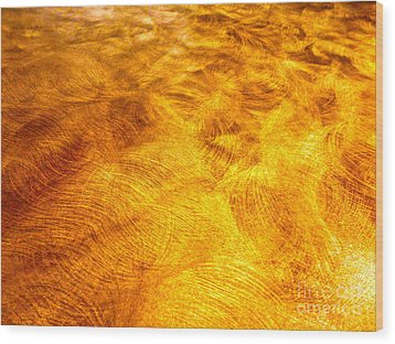 Depiction Of Ions In Outer Space Wood Print by Chuck Taylor
