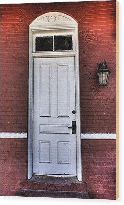 Depot Door Wood Print