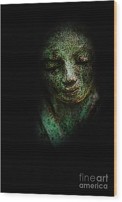 Wood Print featuring the photograph Depression by Lee Dos Santos