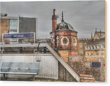 Wood Print featuring the photograph Deptford Station by Ross Henton