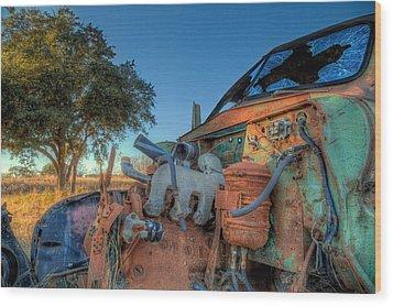 Derelict Wood Print by Micah Goff