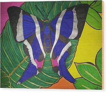 Descansando Wood Print by Marcia Brownridge
