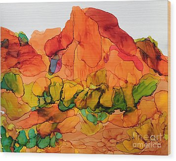Desert Beauty 6 Wood Print