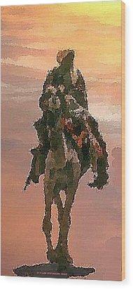 Desert. Bedouin. Wood Print by Dr Loifer Vladimir