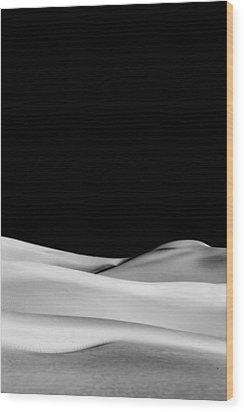 Desert Calm II Wood Print