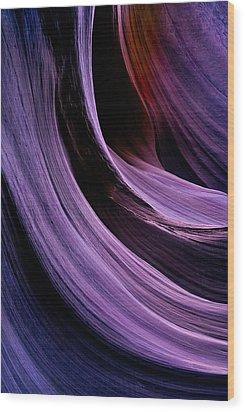 Desert Eclipse Wood Print