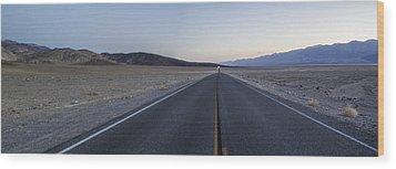 Desert Road Wood Print by Brad Scott