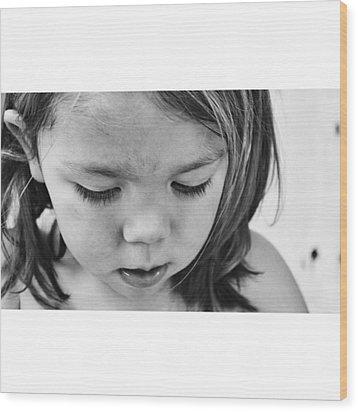 """deserve Your Dream."" ― Octavio Wood Print by Paola Lizeth"