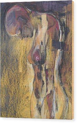 Desire 2 Wood Print by Alicja Coe