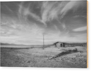 Desolation Wood Print by Hugh Smith
