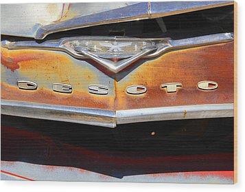 Desoto 2 Wood Print by Mike McGlothlen