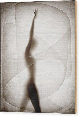 Despite Wood Print by Gun Legler