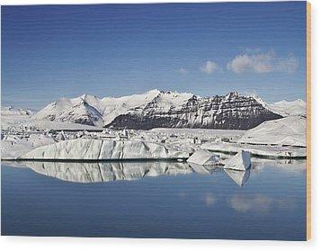 Destination - Iceland Wood Print by Evelina Kremsdorf
