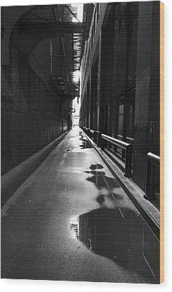 Detective Noir Wood Print