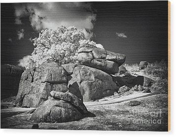 Devils Den - Gettysburg Wood Print by Paul W Faust -  Impressions of Light