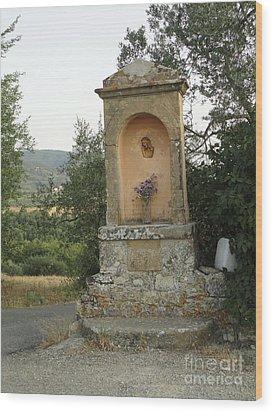 Devotion In Loppiano Wood Print