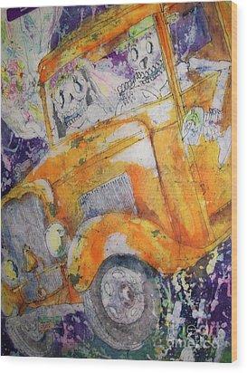 Dia De Los Muertos II Wood Print