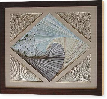 Wood Print featuring the mixed media Diamonds Are Forever by Ron Davidson