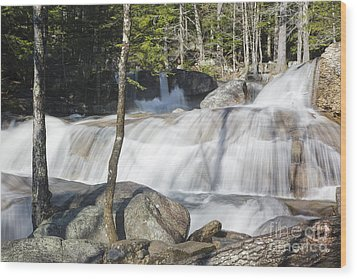 Dianas Bath - North Conway New Hampshire Usa Wood Print by Erin Paul Donovan