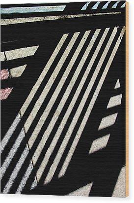 Diangular Wood Print
